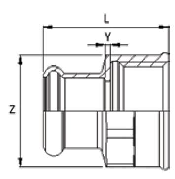 MarinePRES Feale adaptor technical
