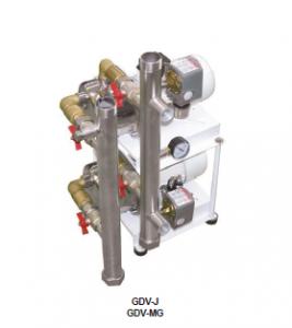 GDV MG dual water pressure set