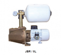 Image showing a CEM Pumps and Blowers JBR with painted steel 8 litre accumulator