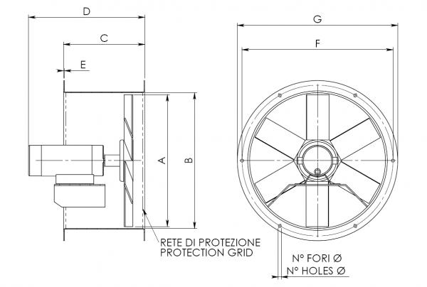 CEM - VE and VEX Drawings