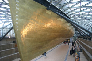 Muntz Metal bottom cladding of the Cutty Sark