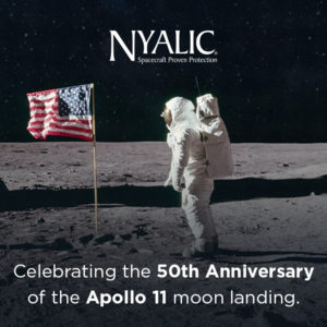 Image to celebrate 50 years of the Apolo 11 moon landing