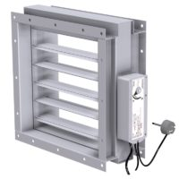 A60 Rectangular MED approved fire damper