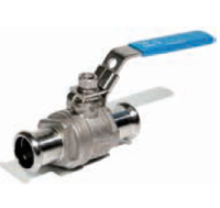 RACMET inoxPRES 316l Ball valve 2pc