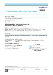 DNV-GL Drain Certification download