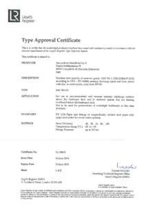 Lloyds Register Drain Certification