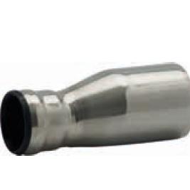 RACMET - Drain - 316L Eccentric reducer