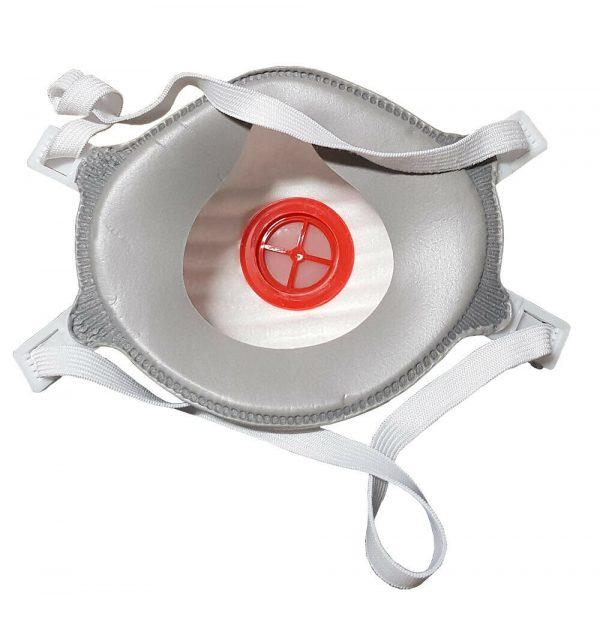 FFP3NR - Safety Dust Masks - Face Protection - FFP3 NR Moulded Valved Respirator