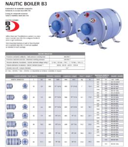 Quick - Nautic Boiler B3
